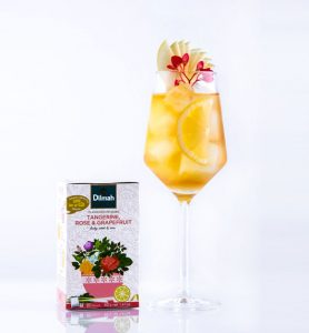 Cocktail infusion Dilmah Summer Blossom